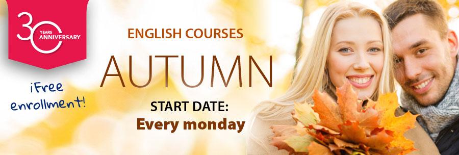 English courses 2019