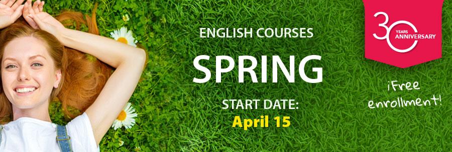English courses 2020